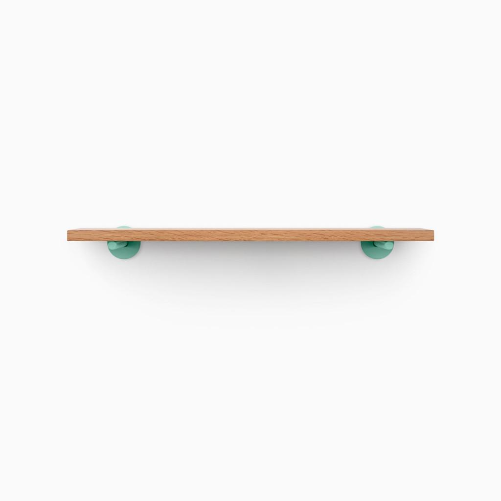 Roderick White Oak Wall Shelf