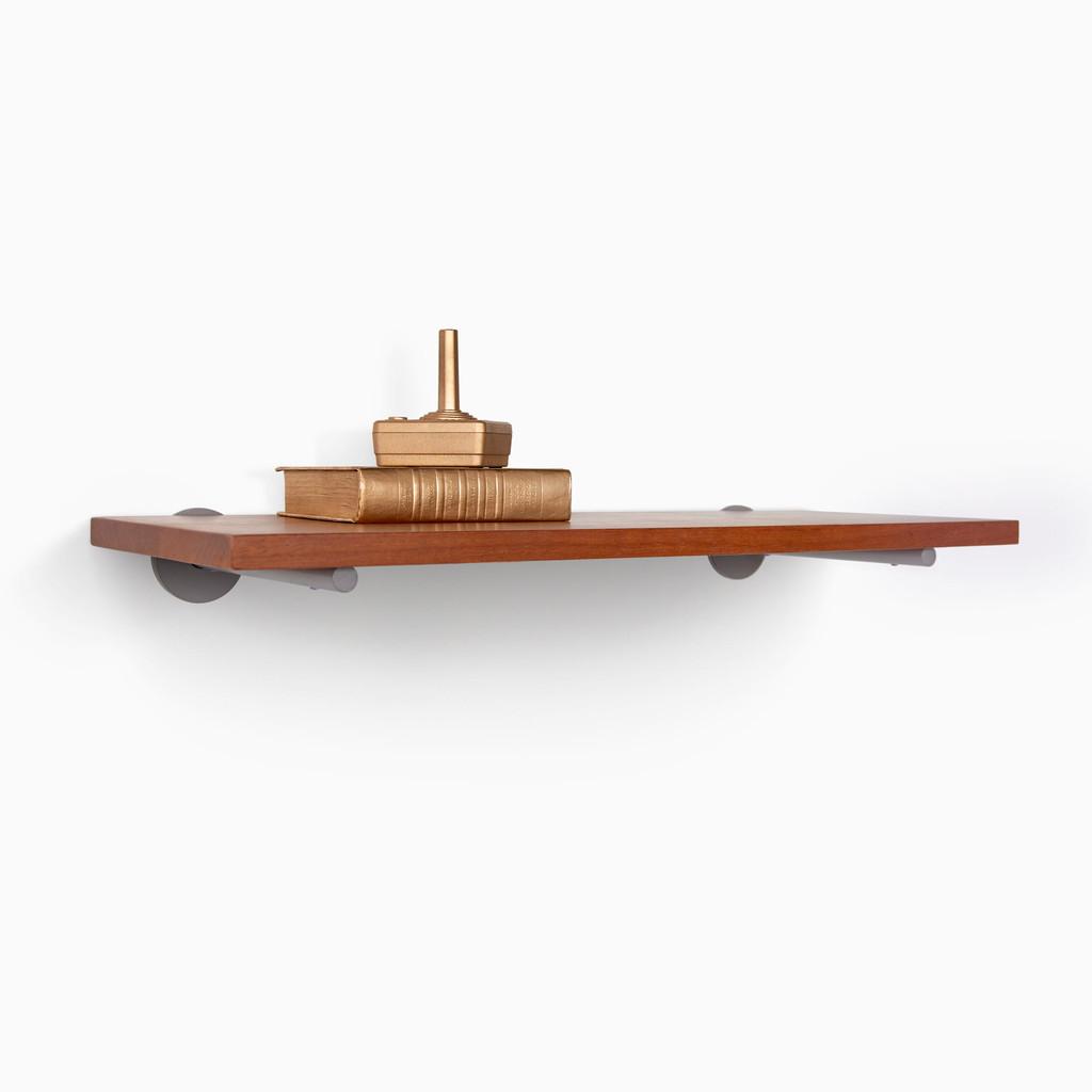 Roderick White Oak Floating Shelf (Glazed)