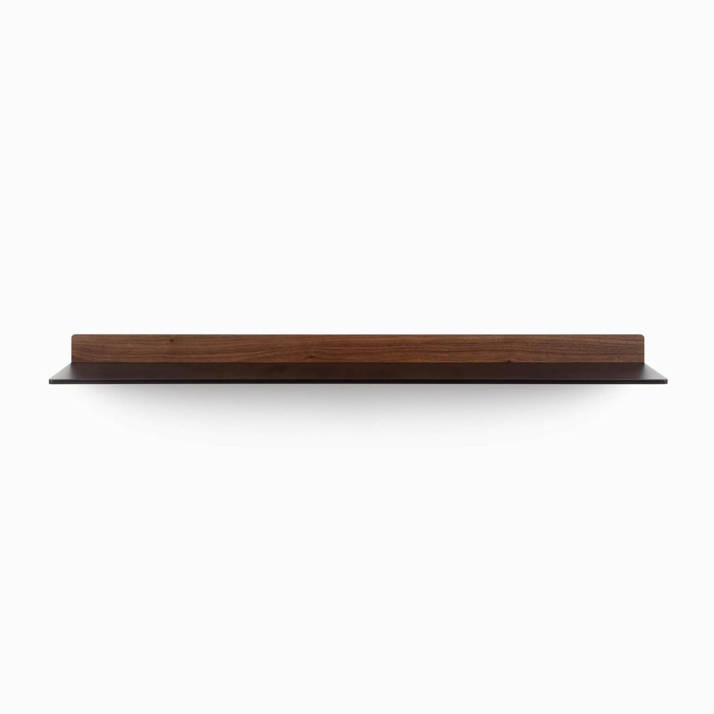 Tromso FM1 Steel Floating Shelf (Hardwood Accent)