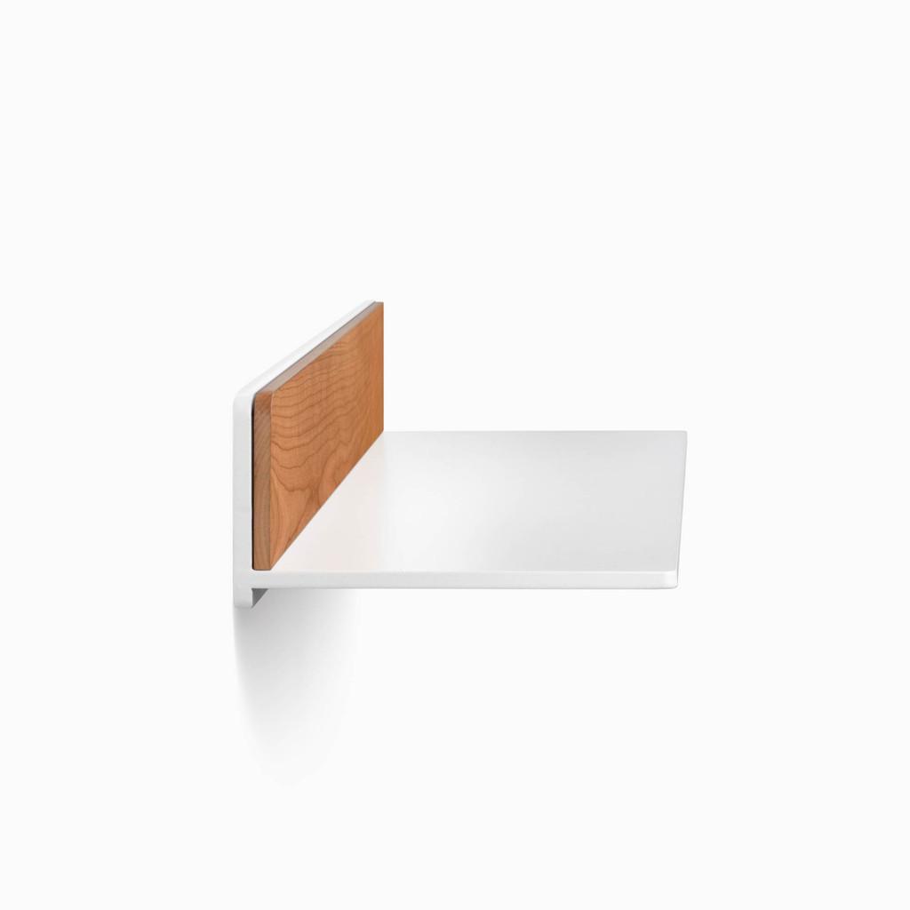 Tromso FM3 Steel Floating Shelf (Hardwood Accent)