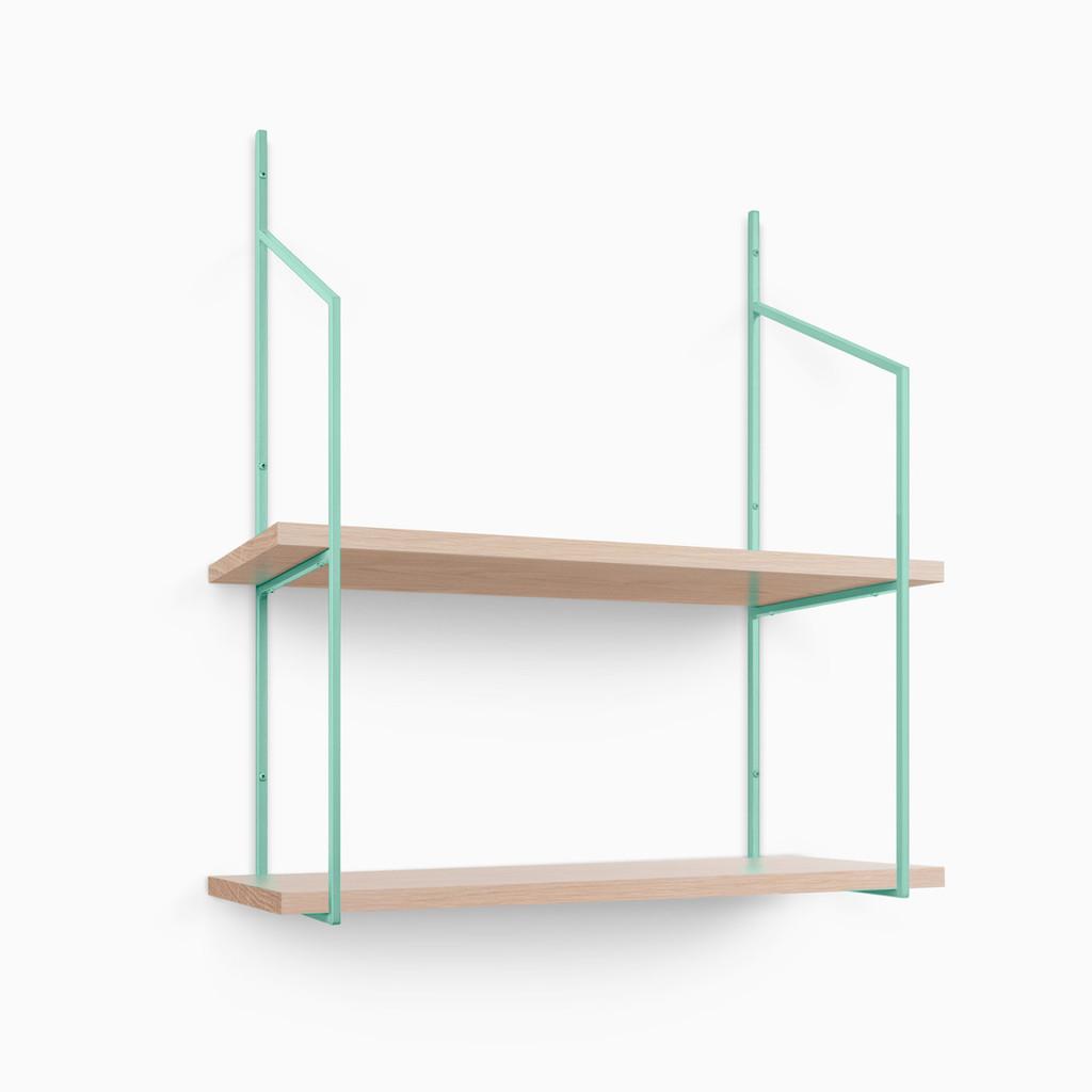 Verne White Oak Glazed Shelf