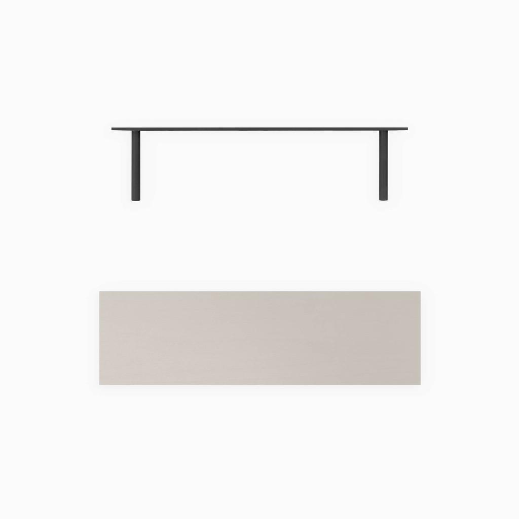 Aksel Concretey Floating Shelf