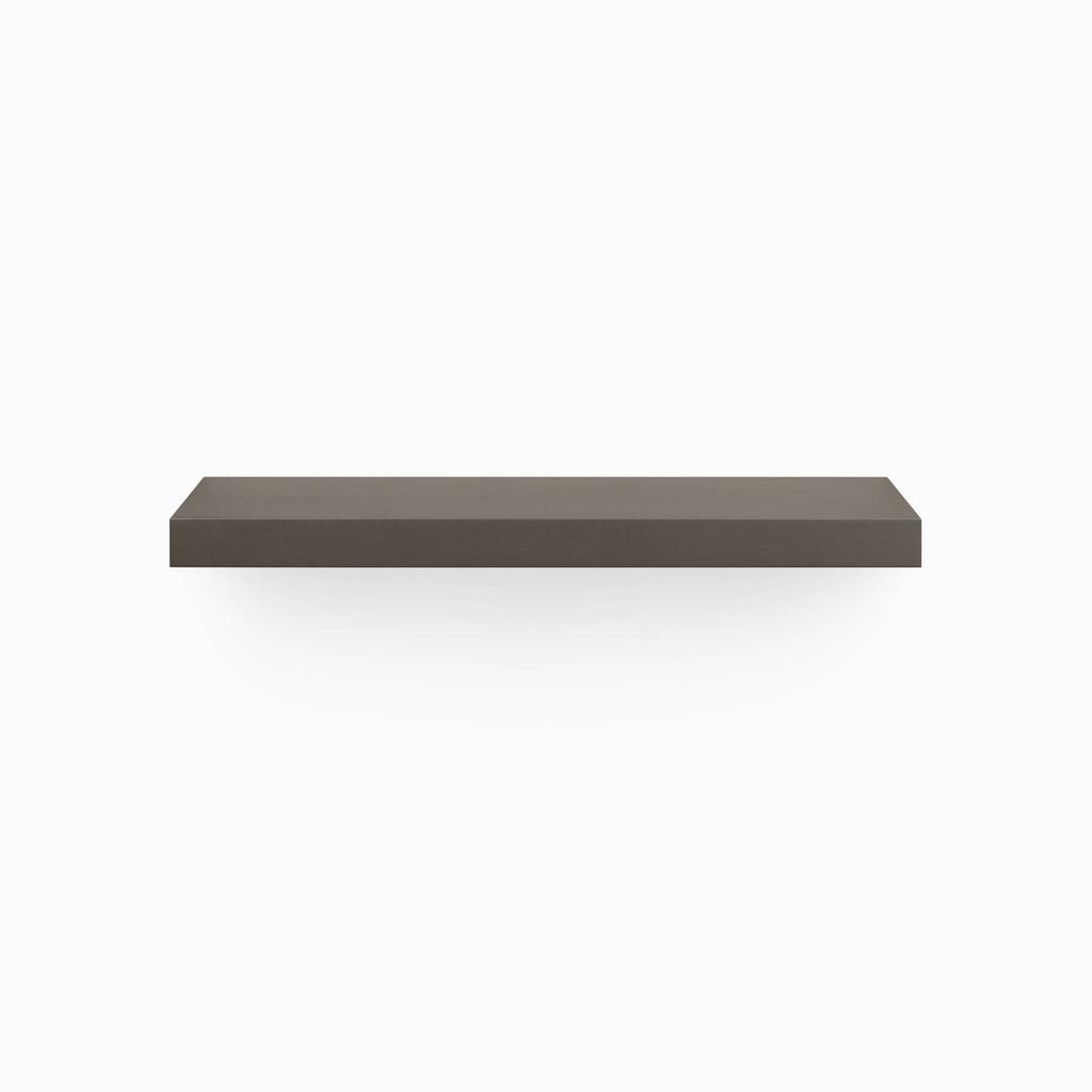 Aksel Tungsten Floating Shelf