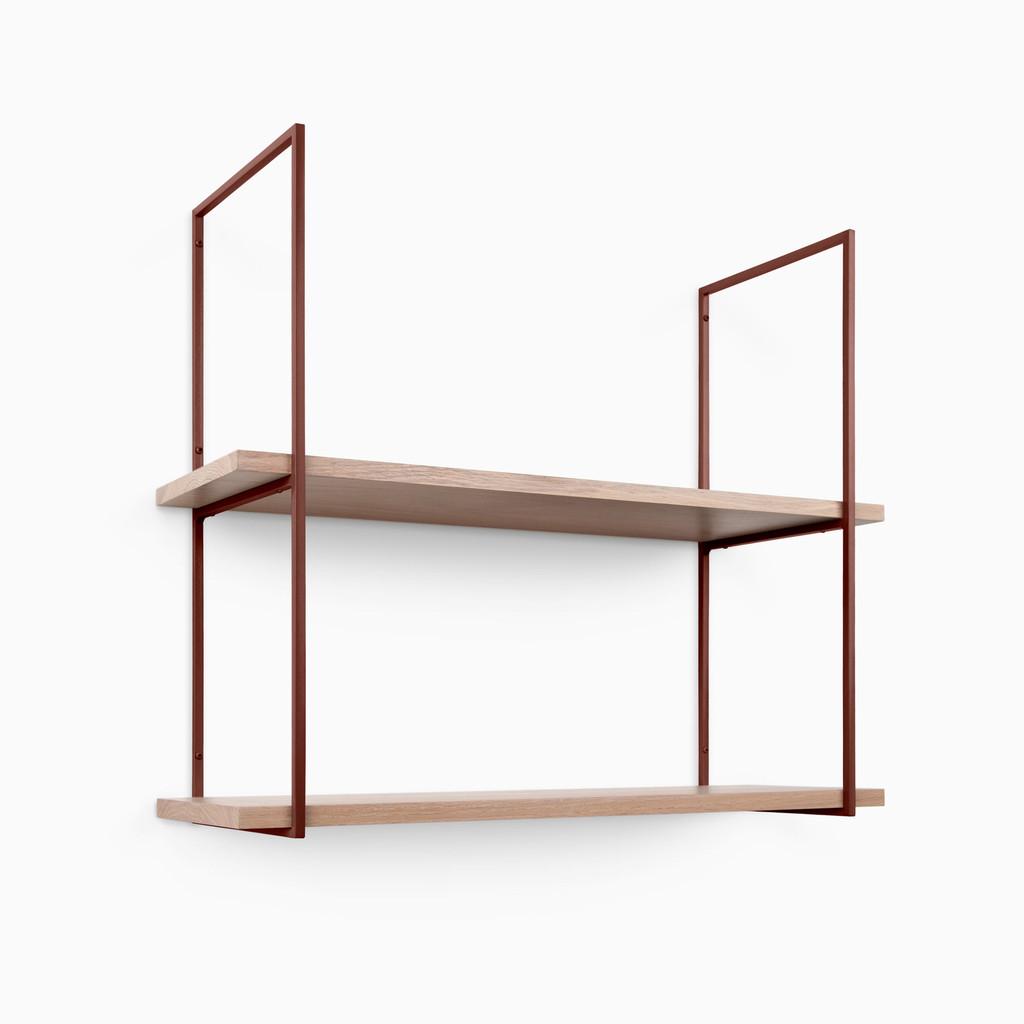 Lloyd White Oak Glazed Shelf