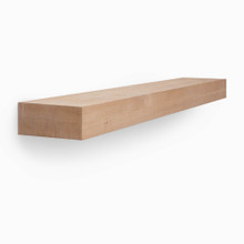 Glenn Raw Unfinished Rough Alder Floating Mantel System