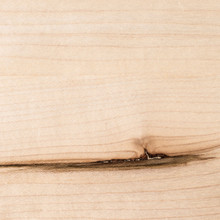 Close up of Maple shelf grain and knot