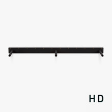 Heavy duty floating mantel bracket made for large mantel with no visible hardware