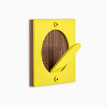 Shingle Round Wall Hook + Hardwood
