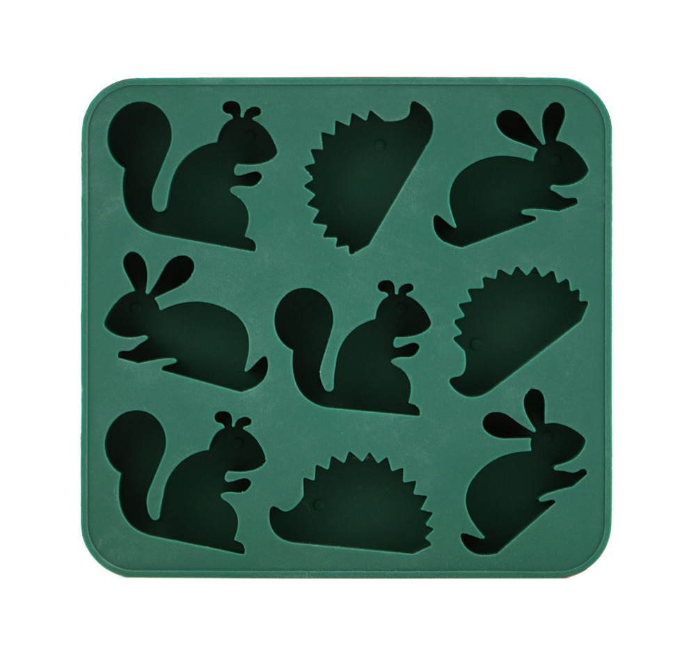 Woodland Silicone Ice Cube & Jello Tray