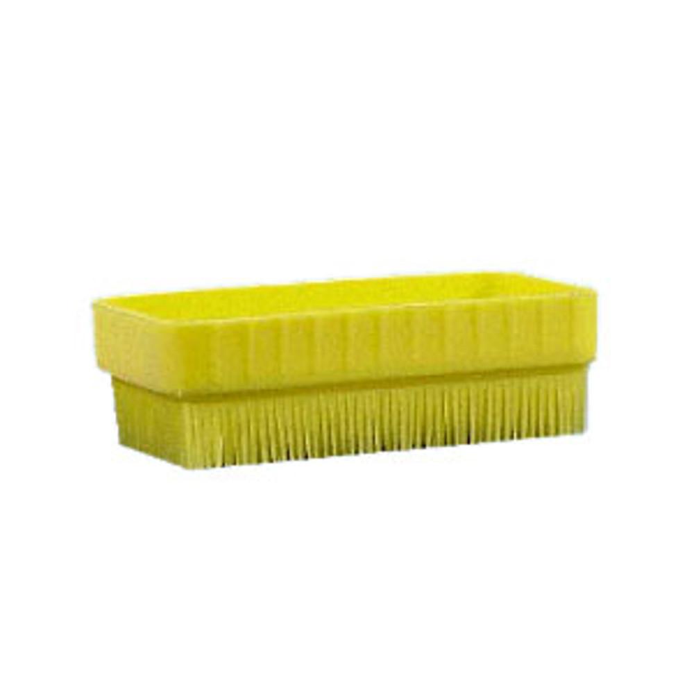 Allen's Naturally Veggie Scrub Brush - yellow nylon bristles
