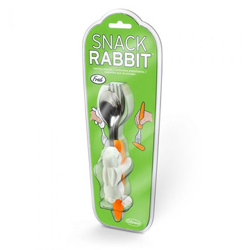 Snack Rabbit Utensils By FRED
