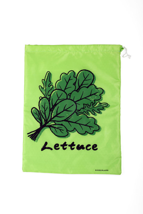 This cute bag from Kikkerland is great for keeping lettuce and other produce fresh longer.