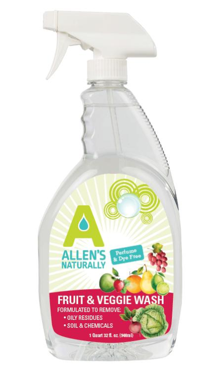 Fruit & Veggie Wash  32 oz Bottle