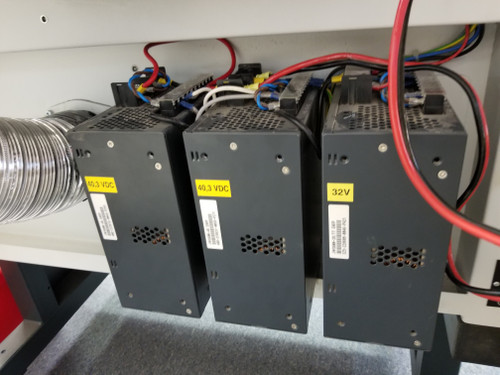 CO2 laser DC power supply gone bad and needs to be replaced with correct laser power supply wiring configuration
