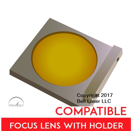 Universal Laser Systems compatible premium grade focus lens that has a two inch focal length, and made from high quality ZnSe