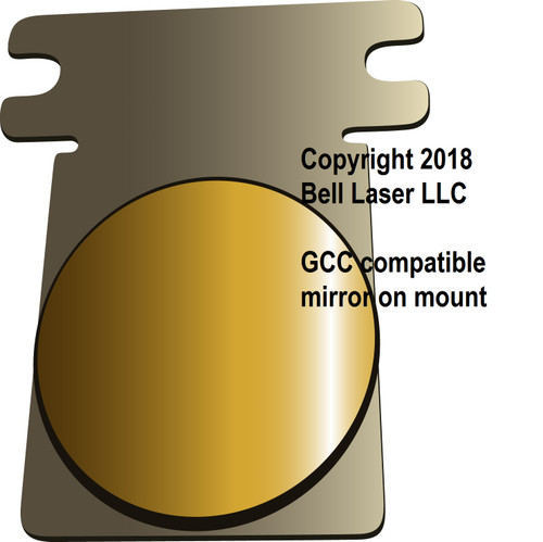 GCC Laserpro mirror optics for CO2 laser engravers including Explorer, and more.