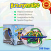 PlayKidz Brainymaze Challanger, 3D Maze Game with Over 200 Obstacles, Great Puzzle to Test Stabilizing Skills.