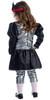 Toddler Energizer Battery Girl Dress Costume2