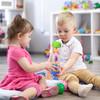 "Playkidz 8.5"" Rainmaker Rattle Toy for Babies & Toddlers, Kids Rainfall Rattle Tube, Rain Stick Shaker, Music Sensory Auditory Instrument Toy."