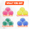 Squishy Stress Ball with Water Beads, Anxiety Relief Squishy Ball for Adults and Kids, Stress Ball Sensory Fidget Toy, Boosts Concentration and Focusing, Pack of 12, Ages 3+