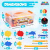 Play Build Ballistix, STEM Building Educational Toys, Engineering and Building Set, Play and Learn, Problem Solving Stimulation,  Tinker and Play Toy for Boys and Girls, Ages 3+