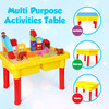 PlayBuild Kids Pretend Play Table - Multipurpose Table for Kitchen, Construction, Picnic, Storage and Safe for Indoor and Outdoor Use For Girls or Boys age 3+.