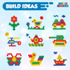 Play-Build Baby Toys and Toddler Toys, Fun Snaps Connecting Toy, Connecting Blocks for kids, Fine Motor Skills, Play and Learn, Educational STEM Toy, Ages 3+