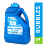 BubblePlay 64-Ounce Bubble Solution - Includes Big Bubble Wand and Easy Pour Funnel for Fun Bubble Machines, Refills, Birthdays for Kids All Ages - Non Toxic