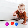 Squash Sticky Balls, Variety of fun colors. Sticky Squishy Sensory Items, Splat and Sticks to Walls, Anxiety and Stress Relief, Sensory Fidget Pack of 3