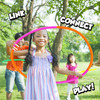 """Pop Tubes Sensory Toys, Fine Motor Skills Toddler Toys, Thin Fidget Sensory Toys for Kids and  Adults, Learning Toys, 5""""  Stretches Up to 18"""" by Playkid"""