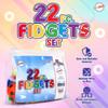 Playkidiz Fidget Pack Pop It Simple Dimple Pack Sensory Kit, 22 Piece Fidget Set Pop in a Box Stress Relief Pack, Ages 3+.