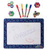 """PJ Masks Magnetic Dry Erase White Board: Mini Magnetic Dry Erase Board for Kids, Educational with 4 Dry Erase Markers, 5 Magnets, and a 9.5"""" x 12.75"""" Magnetic Drawing Board, for Boys and Girls ages 3+"""