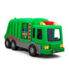 """Playkidiz Kids 15"""" Garbage Truck Toy with Lights, Sounds, and Manual Trash Lid, Interactive Early Learning Play for Kids, Indoor and Outdoor Safe, Heavy Duty Plastic"""