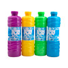 BubblePlay Bubble Solution Refill: Bubbles for Kids, 4 Bottles of 32 OZ Bubble Solution Refill, for Bubble Wands, Bubble Machines, and any other Bubble Blowing Products, for Ages 3+ (Colors May Vary)
