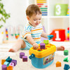 Playkidiz Shape Sorter Baby and Toddler Toy, ABC and Shape Pieces, Sorting Shape Game, Developmental Toy for Children 18 months+