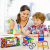 PlayBuild Barific 672 Pieces Educational Building Toys, Building Blocks, Construction Engineering 3D Puzzle Toys, Interlocking Building Connecting Kit. In Super Durable Storage Container