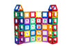 Playmags 72 Piece Alef - Beis Clickin Accessory Add on Set