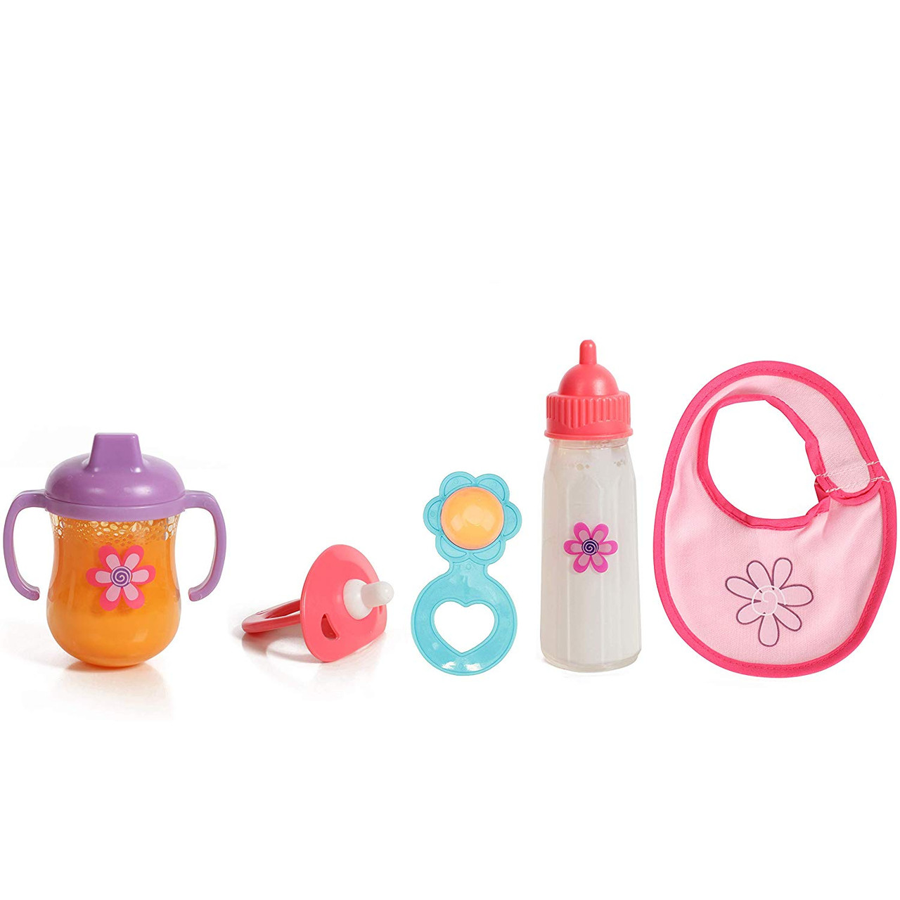 White Youngy Baby Dolls Feeding Bottle Magic Bottle Set Disappearing Milk Pretend Play Toy