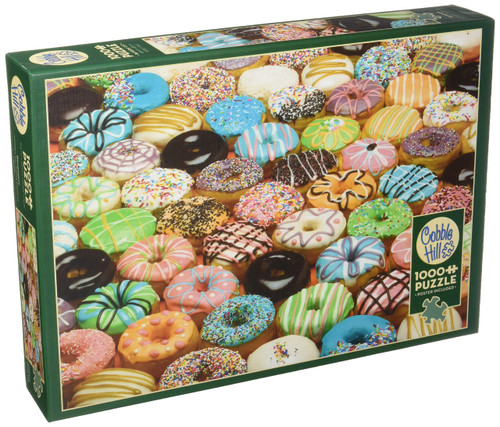 Cobblehill 80035 1000 pc Doughnuts Puzzle, Various