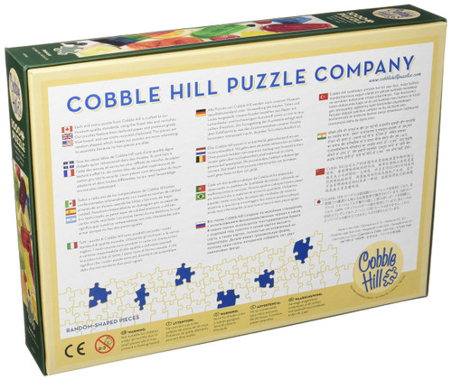 Cobblehill 80166 1000 pc Popsicles Puzzle, Various