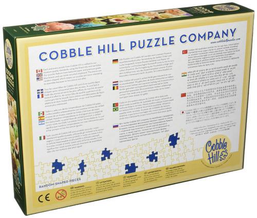 "Outset Media 1000 Pieces 26.625""X19.25"" Ice Cream Jigsaw Puzzle, Ice Cream"