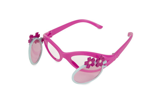 Melissa & Doug Sunny Patch Pretty Petals Flip-Open Tinted Sunglasses With UV Protection