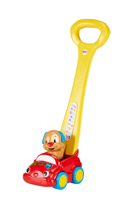 Fisher-Price Laugh & Learn Puppy's Smart Stages Push Car