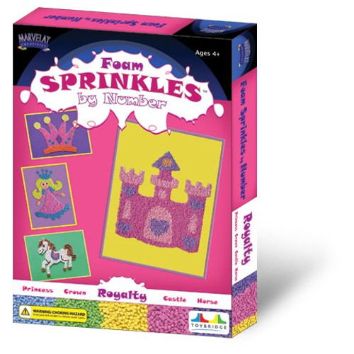 Marvelat Foam Sprinkles by Number - Royalty