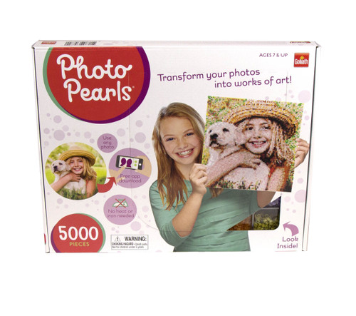 Goliath Photo Pearls - Picture Assembly Kit (5000 Piece), Multicolor