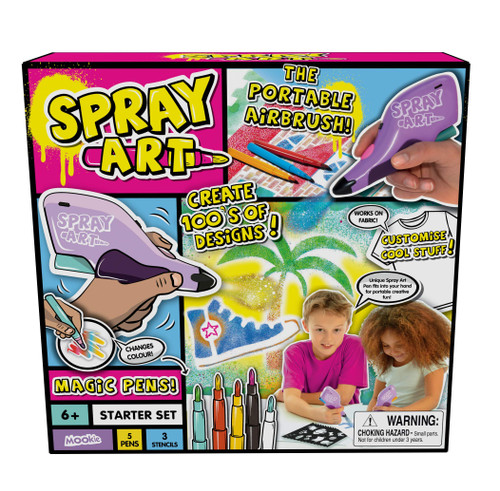 Goliath Games Spray Art Starter Set, Multicolor