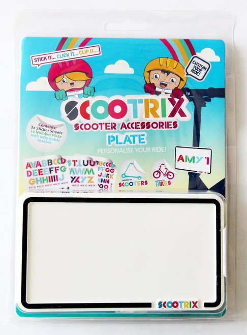 Scootrix License Plate
