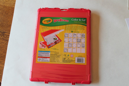 Crayola Dry Erase Color and Go Travel Activity Set