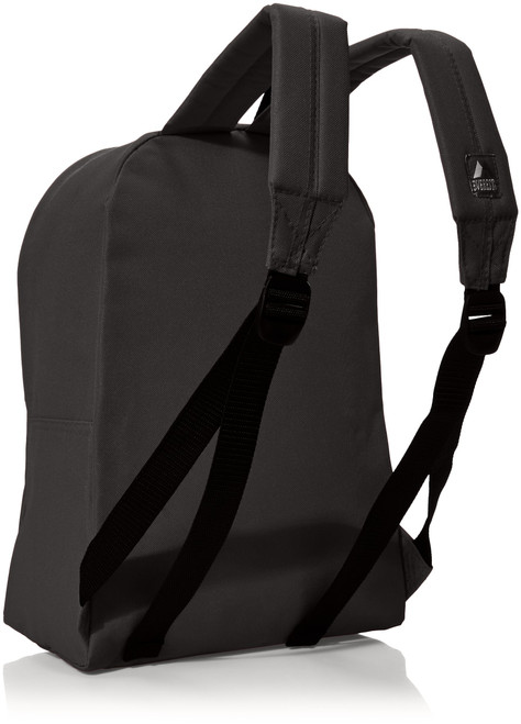 Everest Luggage Basic Backpack, Black, Medium