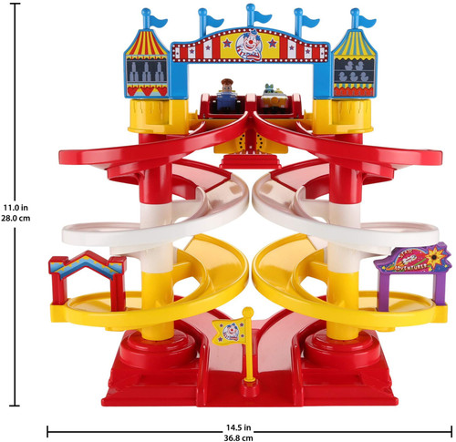 Fisher-Price Disney Pixar Toy Story 4 Spiral Speedway